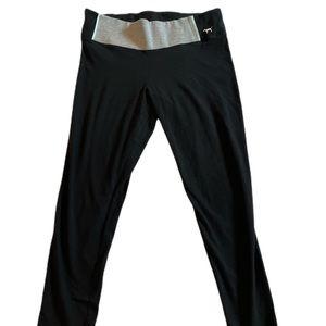 PINK Black Yoga Leggings